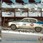 Jump with highway speed, landing after Loong fly. Finished 3trd overall in Historic after Escort BDG and Volvo 242...)