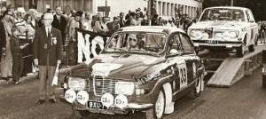 (BXU-1) Antti Jaatinen lähdössä Harjulle 1971, Markku Alen takana odottamassa vuoroaan.