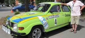 Saab 96 V4 Rally, ETK-909 Replica