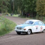 Saab 96 V4 1970 - AYA-10. Länsirannikon rally, 2011. Photo: Marko Koivunen