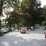 Beatyfull park for SAAB happening