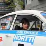 Co-driver with Peltor Intercom