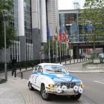 Visiting EU Parliament Brüssel