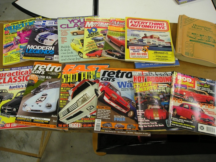 Retro Rally V8 Tuning Magazines From Uk And Usa From Late 80