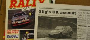 GB ja USA auto ja rallilehtiä sekä esitteitä 004