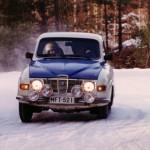 Eka ralli autolla MFT-521 kilvillä / First rally with lisence plates MFT-521
