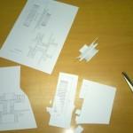 1:1 papermodel copy & cutting