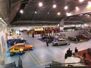 Saabworks.fi stand just a opposite of Saab Club of Finland´s stand. Club´s thema was Saab 900.