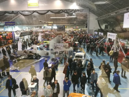 Classic Motor Show is wery popular event.