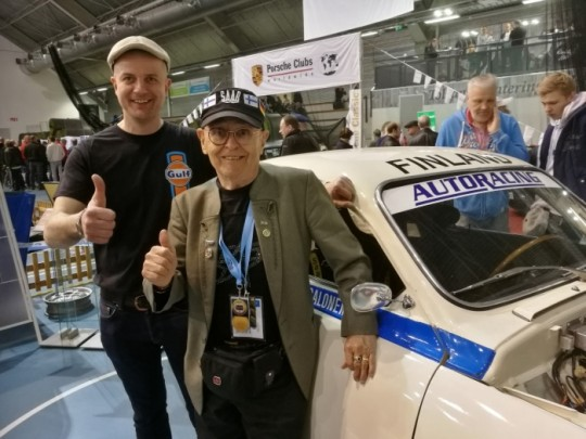 Simo Lampinen visited also in our stand, its always nice to see Simo.