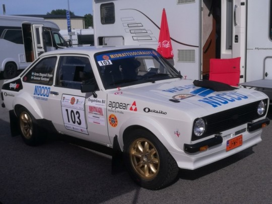 Many Ford BDG/Rs 2000 joint the event.