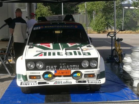 Mums, FIAT 131 Abarth reblica.