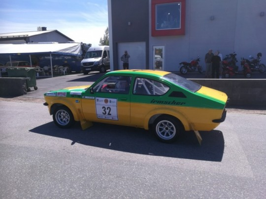 One of the many Opel Kadett GTE