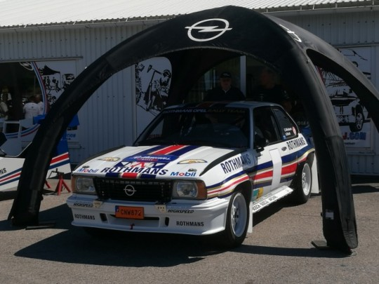 Ascona 400, just for show.