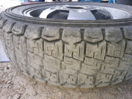 I test drive my old stock Michelin´s. 30 year old tyres, which has been use in late 80´s-beginning 90´s with 3 different drivers and cars including me, works still well. Little bit suprising when you look the results...